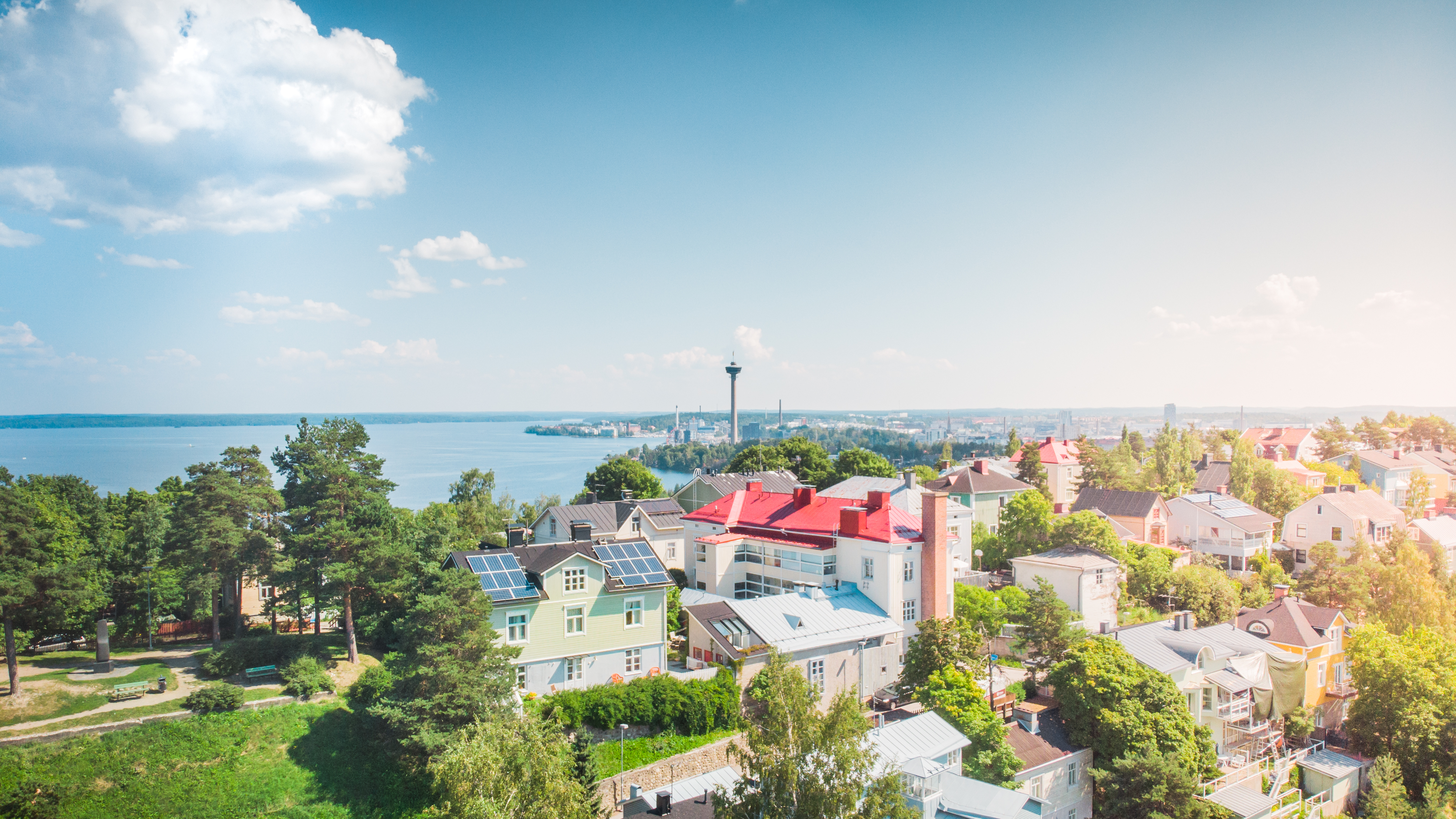 Picture of Tampere, photo by Visit Tampere/Laura Vanzo